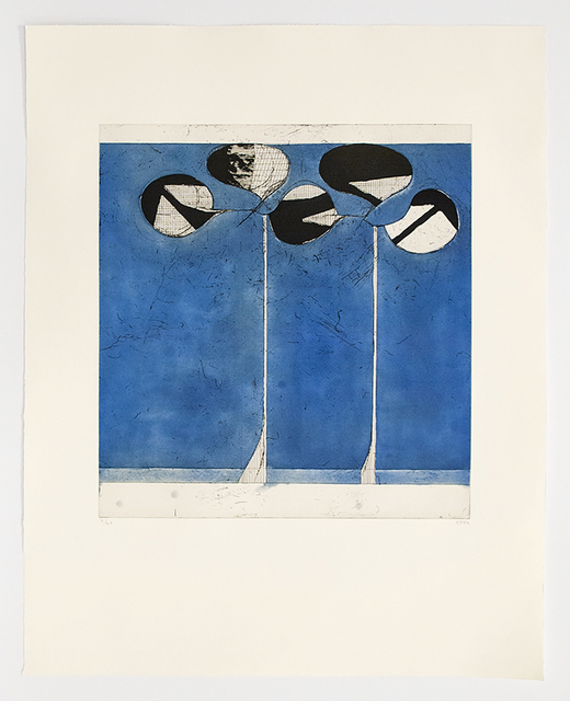 , 'Clubs, Blue Ground,' 1982, Mary Ryan Gallery, Inc