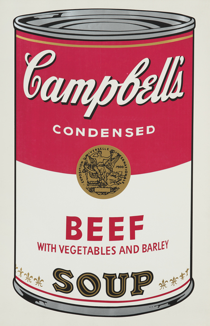 Andy Warhol, 'Beef, from Campbell's Soup I', 1968, Phillips