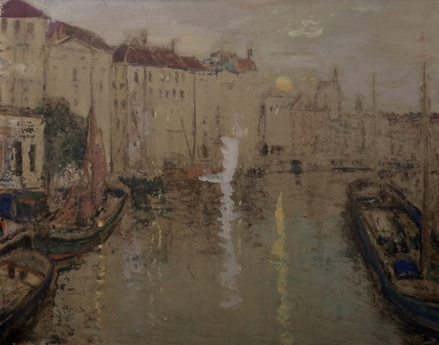 , 'From the Bridge at Ghent, Belgium,' , Cyril Gerber Fine Art/ Compass Gallery
