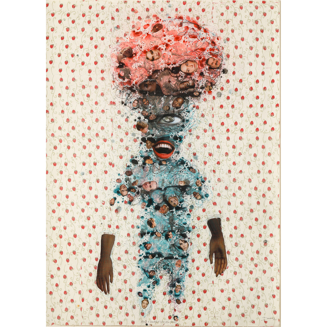 Steve Bandoma, 'Black is Beautiful (Afro series)', 2013, PIASA