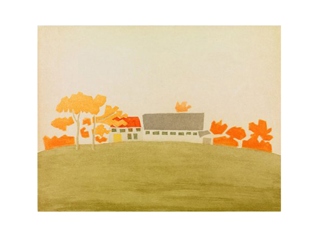 , 'House and Barn, 1954 From the portfolio Small Cuts,' 2008, Richard Levy Gallery