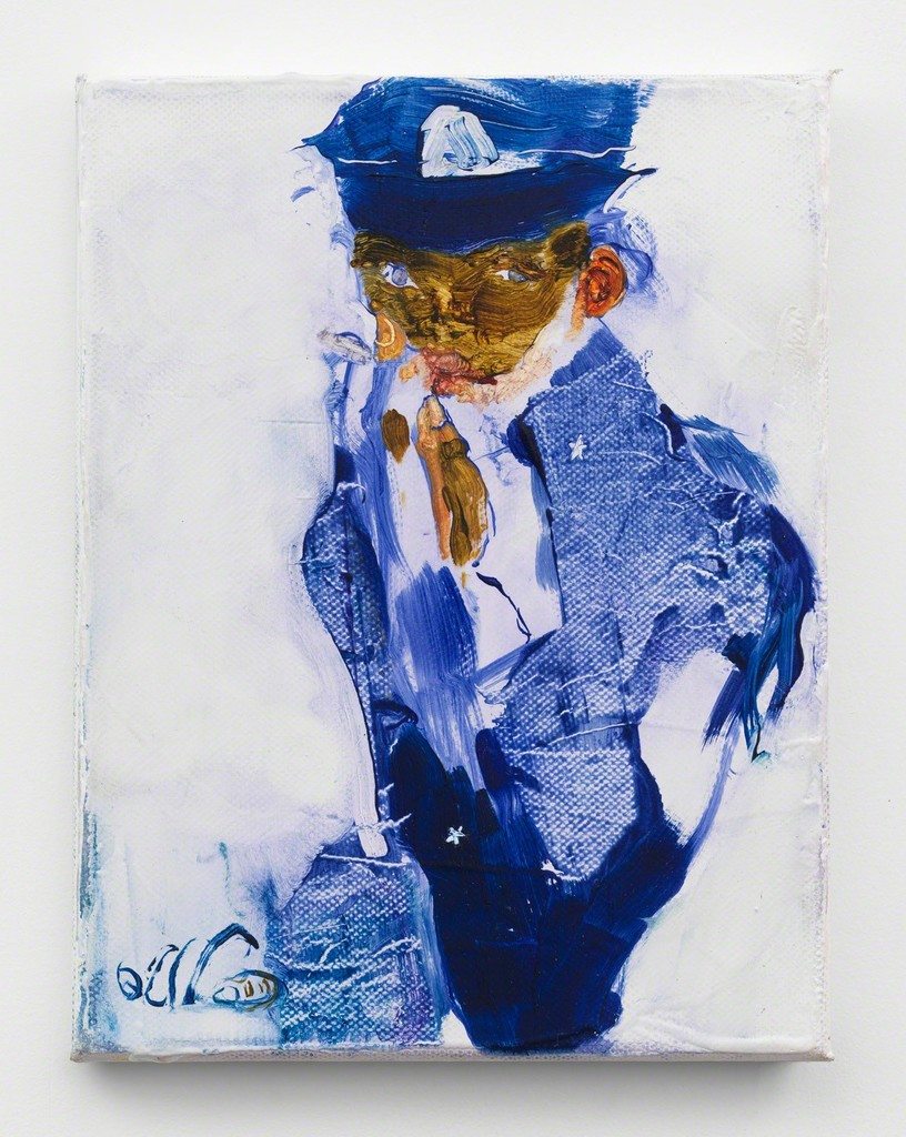 JENNIFER PACKER, AN EXERCISE IN TENDERNESS, 2017. COURTESY OF THE ARTIST AND CORVI-MORA, LONDON.