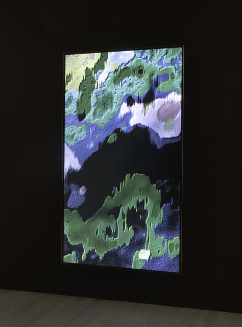 , 'Cloud Relief 1,' 2015, bitforms gallery