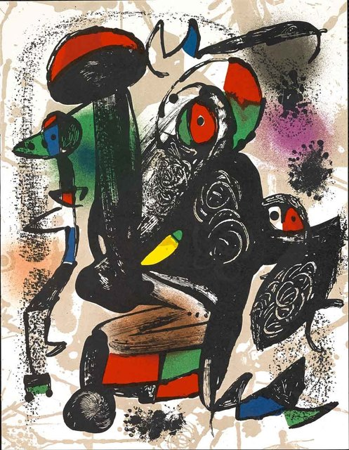 Joan Miró, 'Untitled (Lithographe IV, M.1258)', Martin Lawrence Galleries