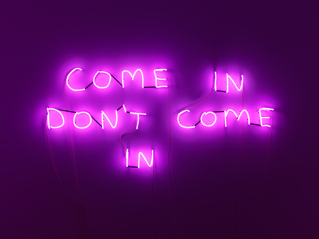 , 'Come In Don't Come In,' 2018, Anton Kern Gallery