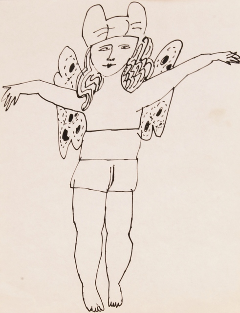 Andy Warhol, 'Untitled (Fairy Arms Outstretched)', ca. 1954, Long-Sharp Gallery