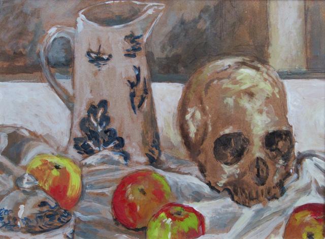 Glenn Hall, 'Still Life with Skull and Apples', 2018, Gallery 78