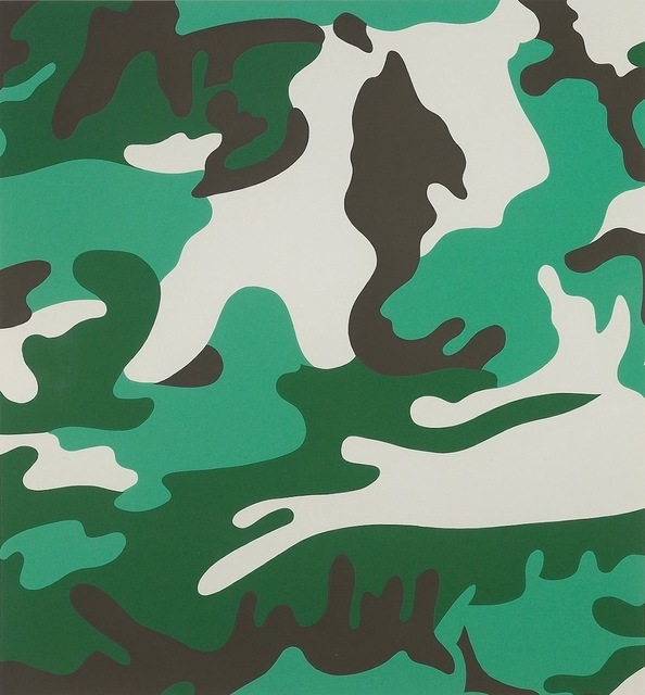 Andy Warhol, 'Camouflage (FS II.406) ', 1987, Print, Screenprint on Lenox Museum Board., Revolver Gallery