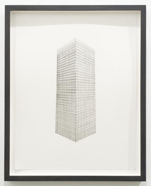 , 'Untitled (skyscraper),' 2013, Lora Reynolds Gallery