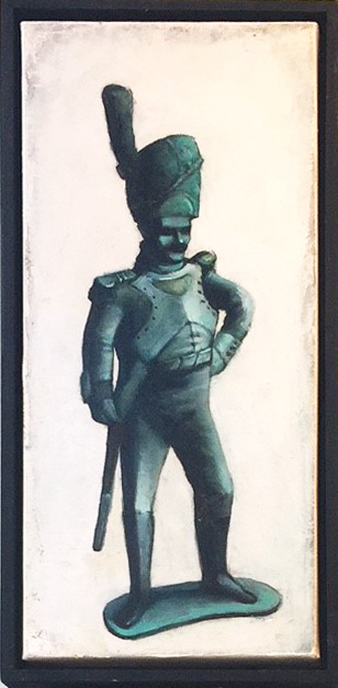 Dim Yuz, 'Toy Soldier2', 2010, Painting, Oil on canvas, Dan Gallery
