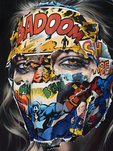 , 'La Cage dans une sourde poésie,' 2017, Galerie C.O.A