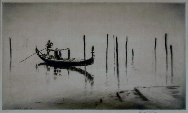 Levon West, 'Misty Lagoon, Venice', 1931, Private Collection, NY