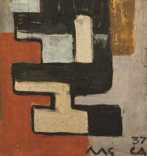 Carmelo de Arzadun, 'Constructivo', 1937, Galería de las Misiones
