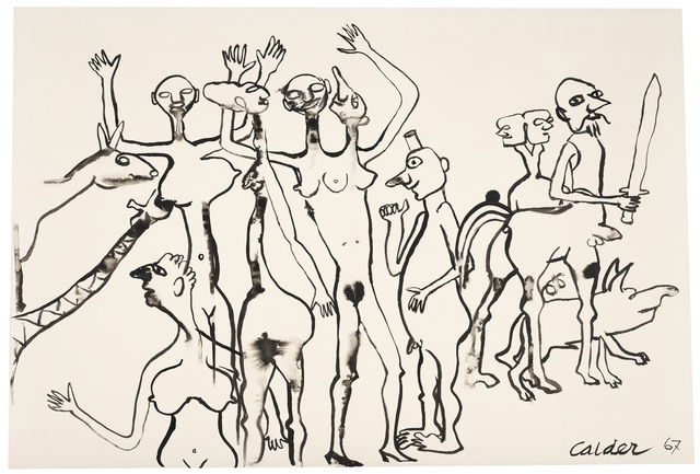 Alexander Calder, 'People with Centaurs', Sotheby's