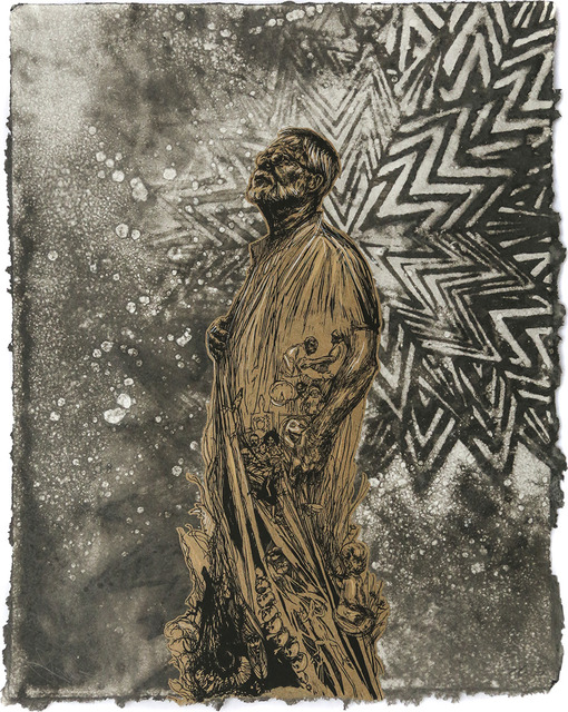 Swoon, 'Milton', 2018, Treason Gallery