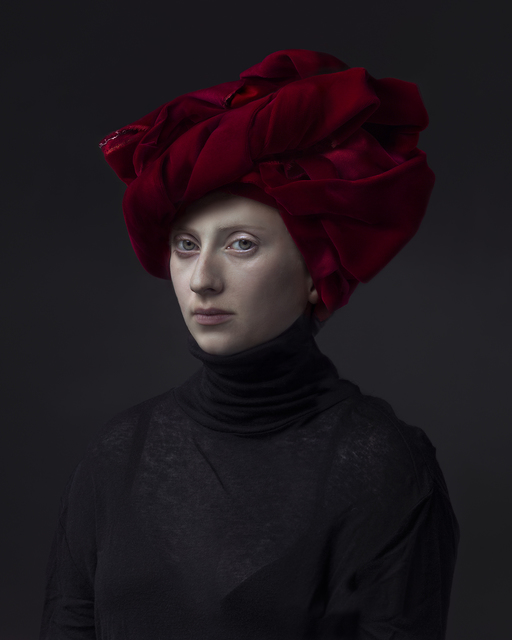 , 'Red Turban,' 2015, Danziger Gallery