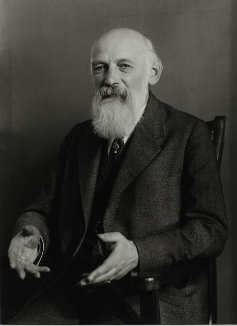 August Sander, 'Magnetopath, 1924', Galerie Julian Sander