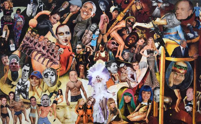 , 'Democratic Nightmare #3,' 2015, Fountain House Gallery