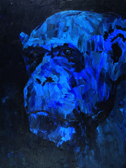 , 'Head of a Gorilla,' 2017, Lorenzelli arte