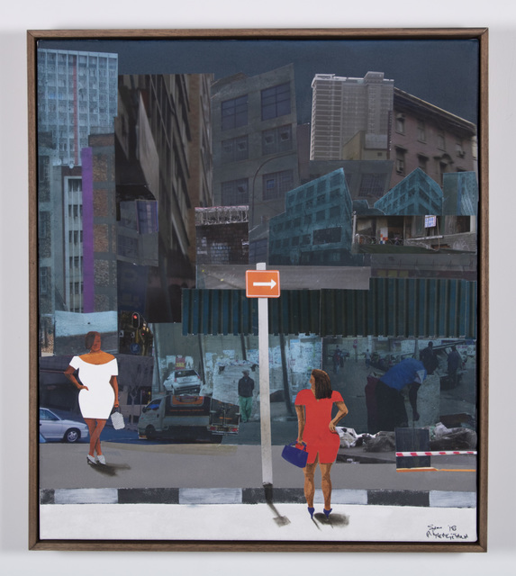 , 'She is waiting,' 2018, Goodman Gallery