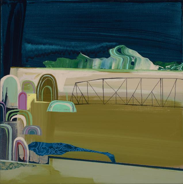 , 'More Bridges, Less Walls,' 2015, Jonathan LeVine Projects