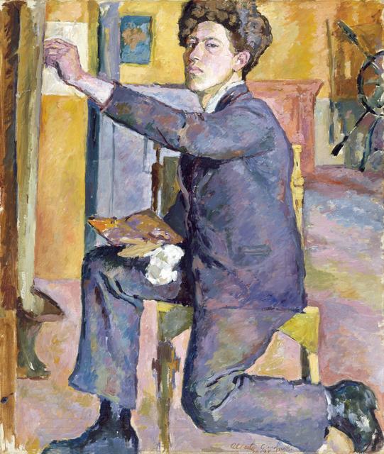 , 'Autoportrait (Self-portrait),' 1921, Musée Picasso Paris