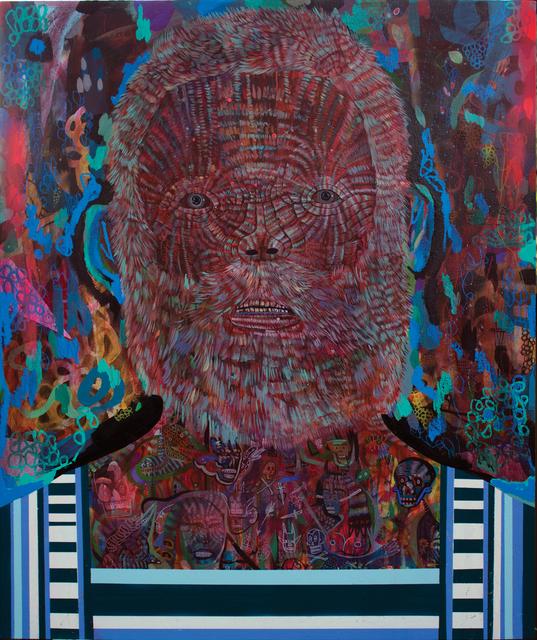 , 'Red Mule II,' 2016, Galerie Matthew Namour