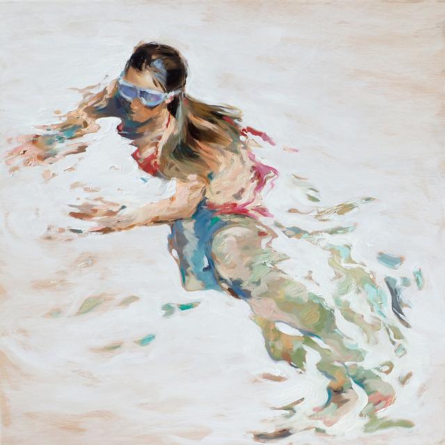 , 'Sea White,' 2017, Anquins Galeria