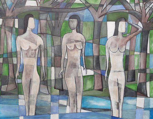 Christopher E Barrow, 'The Three Muses', 2019, White Court Art