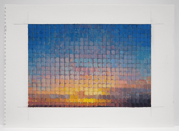 , 'Mosaic Sunset,' 2015, Nohra Haime Gallery