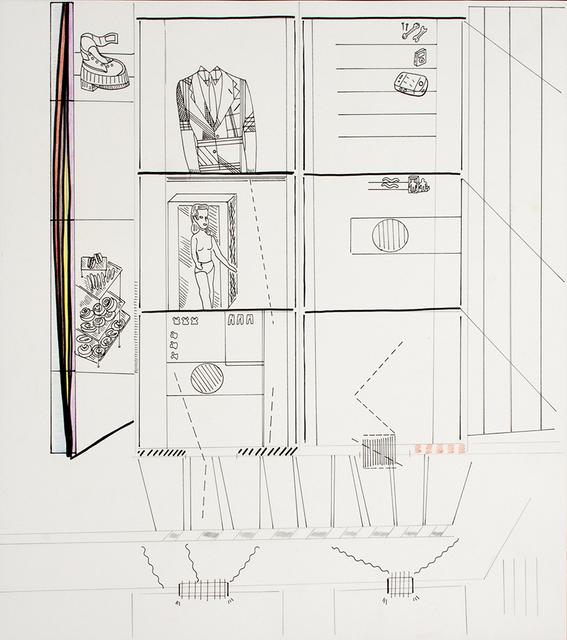 , 'Escalator,' 2016/2017, Anglim Gilbert Gallery