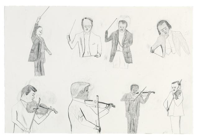 , 'Konsert för violin / Concert for Violin,' 2016, Galleri Magnus Karlsson