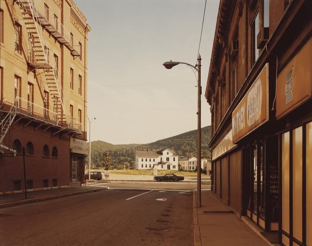 Stephen Shore, ''Holden Street, No. Adams, Mass. 7/13/74'', 1974, Photography, Chromogenic print, Sotheby's