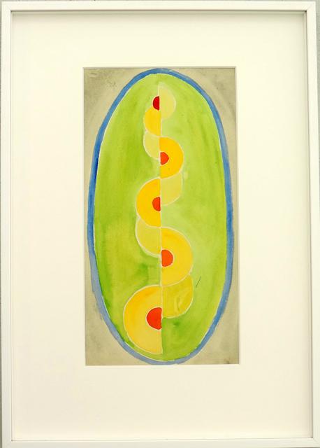 , 'Hommage à Sonia Delaunay,' 1947, Galerie La Ligne