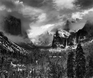 , 'Clearing Winter Storm, Yosemite National Park, CA 1944,' 1944, printed 1968, 1970, Scott Nichols Gallery
