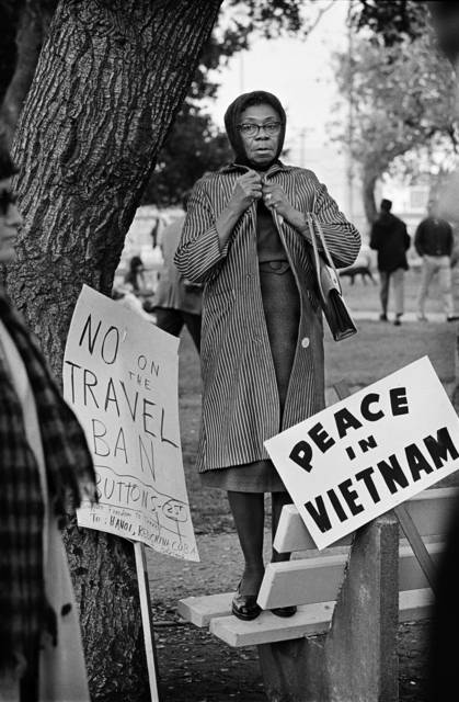 , 'Oakland, 1965, Women's Vietnam Day Committee,' 2017, ACA Galleries