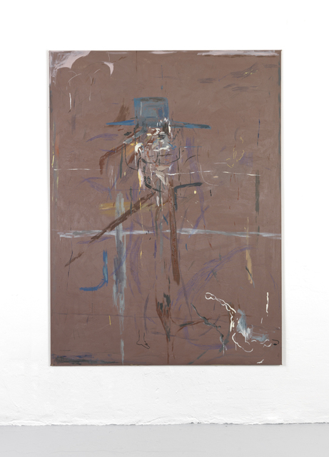 , 'Portrait of a Smoking Fool,' 2017, Setareh Gallery