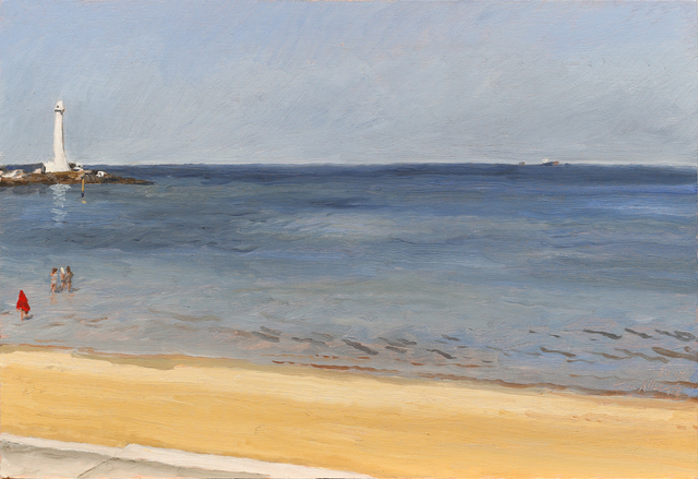 , 'Study St Kilda Beach,' 2017, Charles Nodrum Gallery