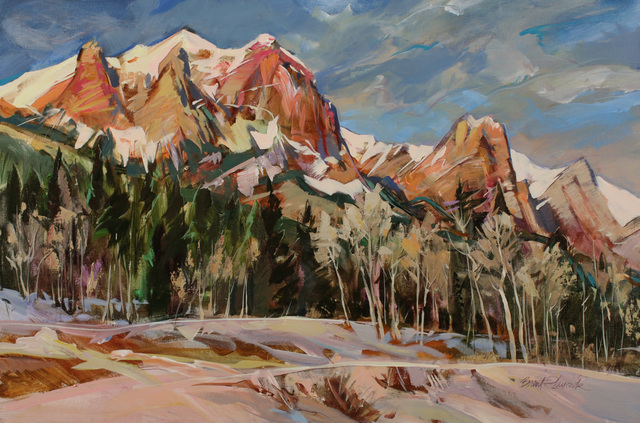 , 'Winter Light on Rundle,' , Wallace Galleries