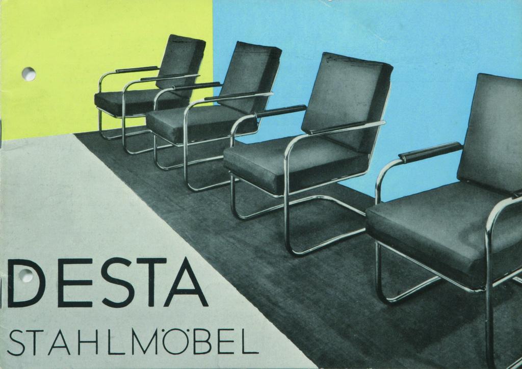 Katalog DESTA Stahlmöbel, 1931 (Graphics: Otto Rittweger) © Vitra Design Museum, Anton Lorenz estate