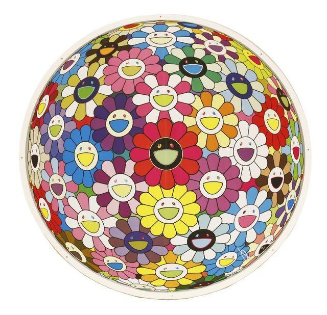 Takashi Murakami, 'Flowerball Multicolour', 2014, Sworders