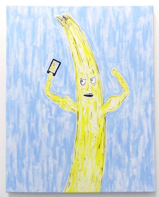 , 'Banana Selfie (Roid),' 2015, Evelyn Yard