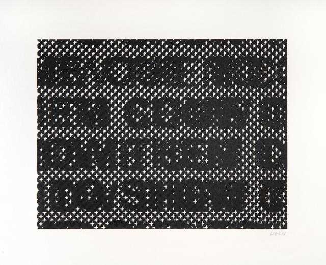 Glenn Ligon, 'Detail', 2014, Print, Screen print on 335 gsm Coventry Rag paper, Tate Ward Auctions