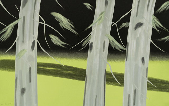 Alex Katz, 'Three Trees', 2018, Meyerovich Gallery