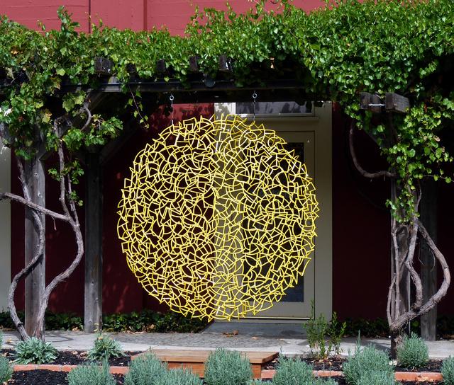 , 'Yellow Disk 78,' 2015, Sculpturesite Gallery