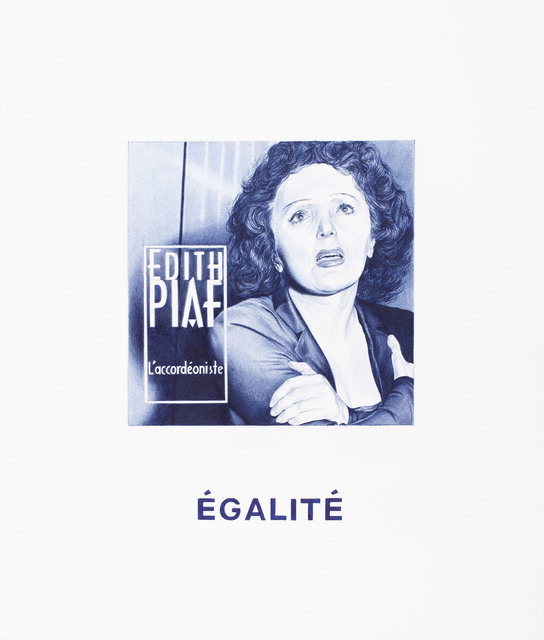 , 'Nel blu dipinto di blu (Egalité),' 2015, MLF | MARIE-LAURE FLEISCH