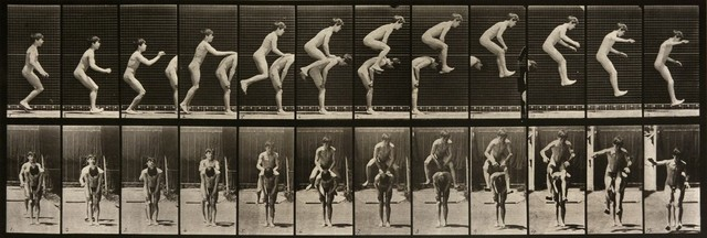 , 'Animal Locomotion: Plate 168 (Two Boys Performing a Leap Frog),' 1887, Huxley-Parlour