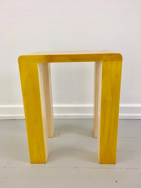 , 'Silo Stool - Yellow,' 2017, Etage Projects