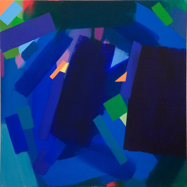 , 'Predawn in a Blue City ,' 2015, Ayyam Gallery