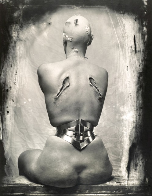 Joel-Peter Witkin, 'Woman Once a Bird', 1990, Photography, Vintage gelatin silver print, Etherton Gallery